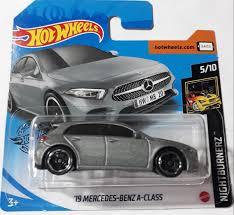 Carrinho Hot Wheels '19 Mercedes-Benz A-Class (GAICS) NightBurnerz - Mattel