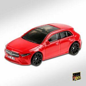 Carrinho Hot Wheels '19 Mercedes-Benz A-Class (WHT4X) NightBurnerz - Mattel