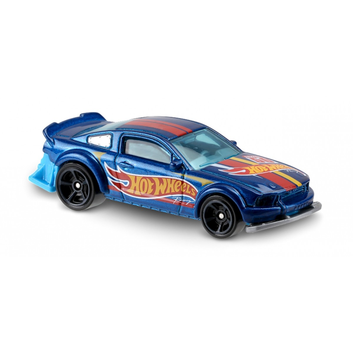 Carrinho Hot Wheels: 2005 Ford Mustang Azul