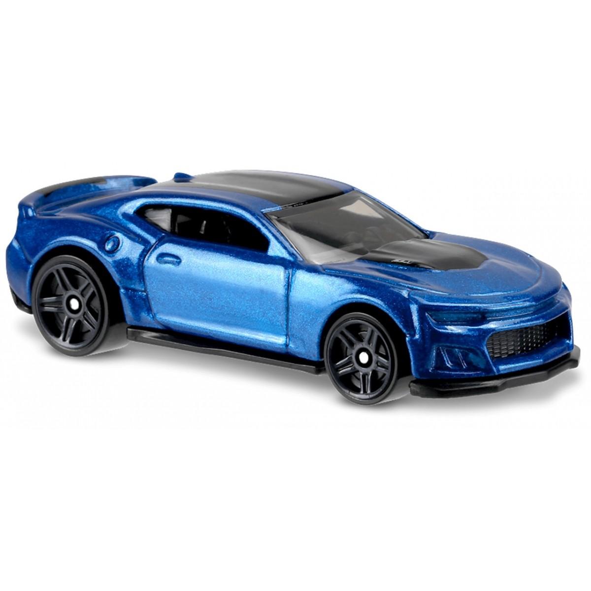 Carrinho Hot Wheels: 2017 Camaro ZL1 Azul