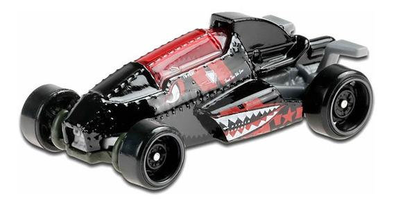 Carrinho Hot Wheels: 2 Jet Z (Preto) Rod Squad - Mattel
