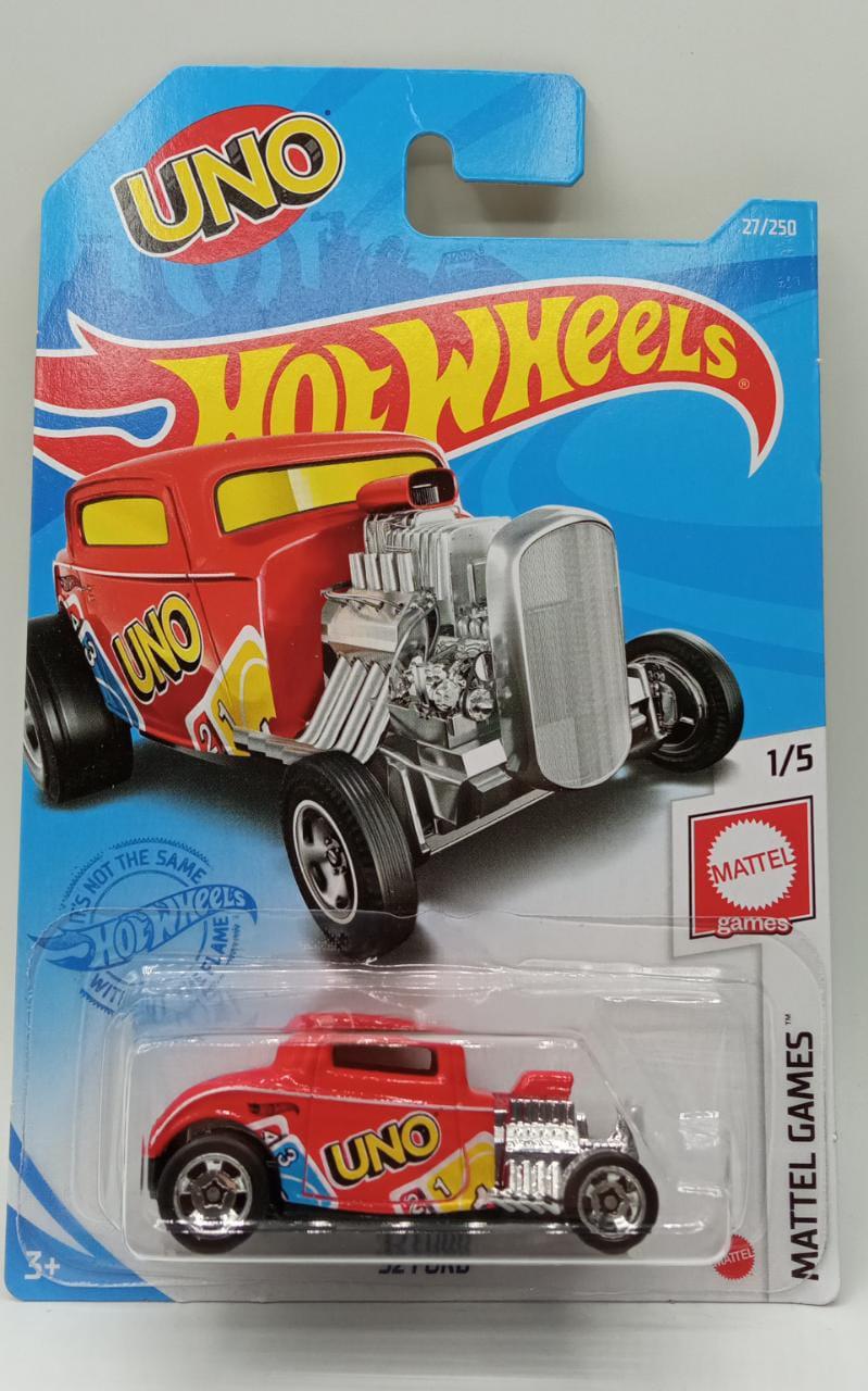 Carrinho Hot Wheels: '32 Ford (UNO) Mattel Games - Mattel