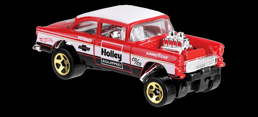 Carrinho Hot Wheels '55 Chevy Bel Air Gasser (MTCU8) - Mattel