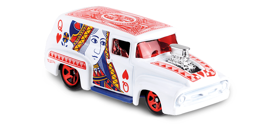 Carrinho Hot Wheels '56 Ford F-100 (ZLZAY) - Mattel