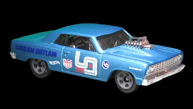 Carrinho Hot Wheels '64 Chevy Chevelle SS (TEWC6) Nightburnerz- Mattel