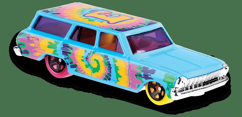 Carrinho Hot Wheels '64 Chevy Nova Wagon (WWYZE) - Mattel