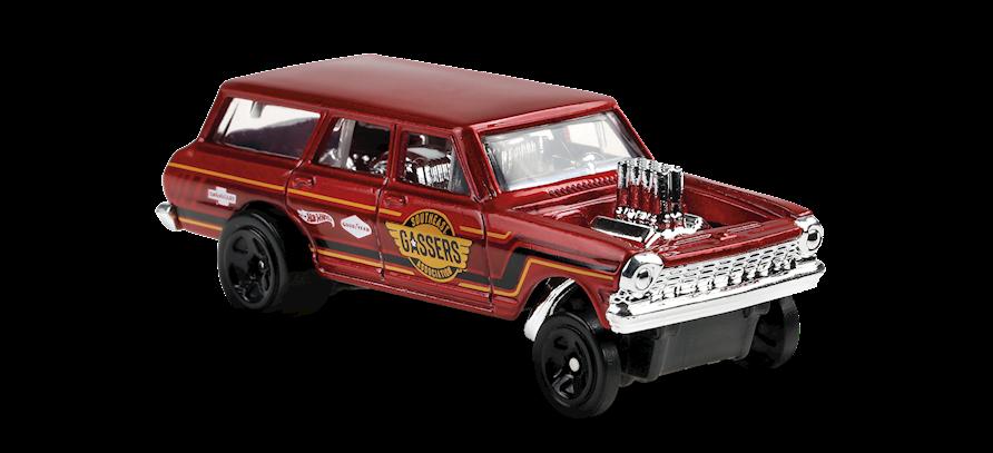 Carrinho Hot Wheels '64 Nova™ Wagon Gasser (2FPO4) Muscle Mania