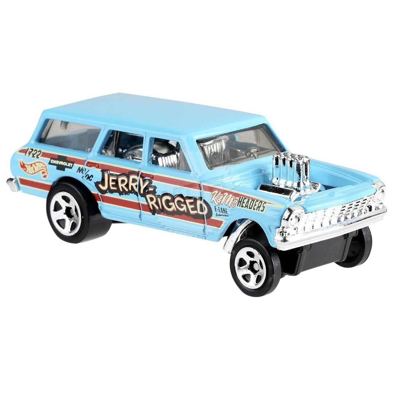 Carrinho Hot Wheels '64 Nova Wagon Gasser (X7QRX) - Mattel