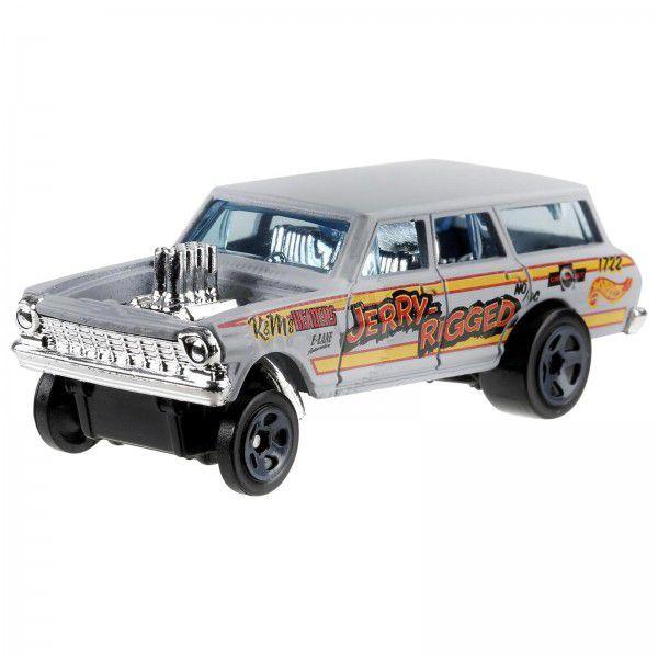 Carrinho Hot Wheels: '64 Nova Wagon Gasser (ZT3UZ) - Mattel