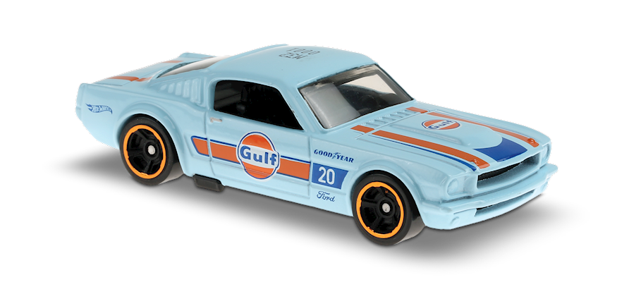 Carrinho Hot Wheels '65 Mustang 2+2 Fastback (Y1GKK) HW Speed Graphics