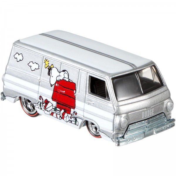 Carrinho Hot Wheels '66 Dodge A100: Snoopy (Peanuts) - Mattel