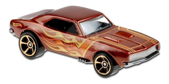 Carrinho Hot Wheels '67 Camaro (PLI2X) HW Flames - Mattel