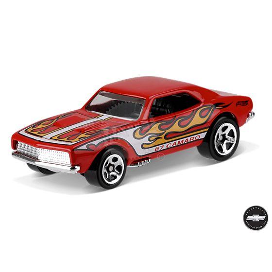 Carrinho Hot Wheels: '67 Camaro Vermelho