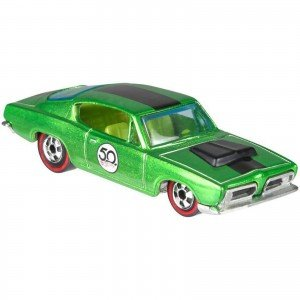 Carrinho Hot Wheels: '67 Hemi Barracuda 5/5 (50 Challenging The Limits Since 1968) - Mattel