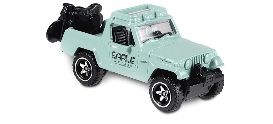 Carrinho Hot Wheels '67 Jeepster Commando (U62JH) - Mattel