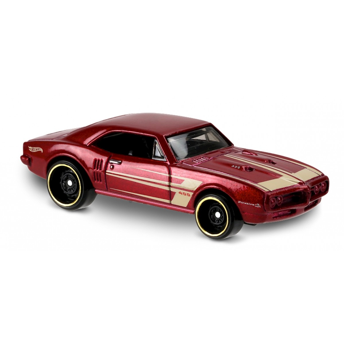 Carrinho Hot Wheels: '67 Pontiac Firebird 400 Vermelho