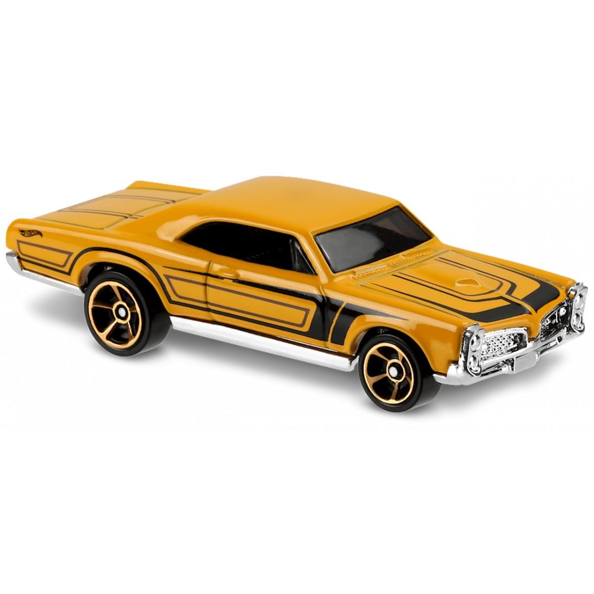 Carrinho Hot Wheels: '67 Pontiac GTO Amarelo