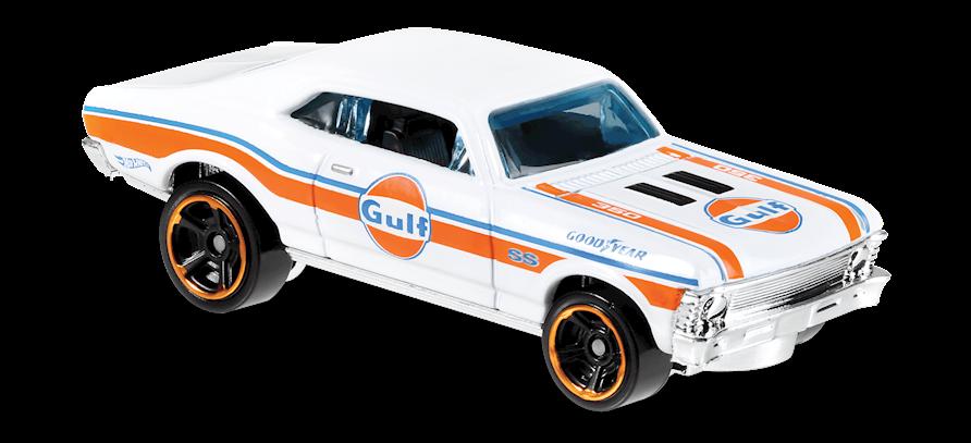 Carrinho Hot Wheels '68 Chevy® Nova (KYULO) - Mattel