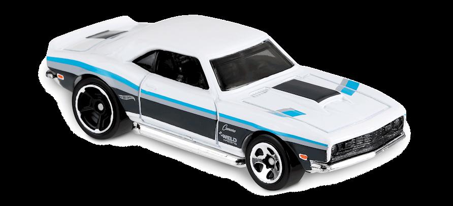 Carrinho Hot Wheels '68 Copo Camaro (BORG0) - Mattel