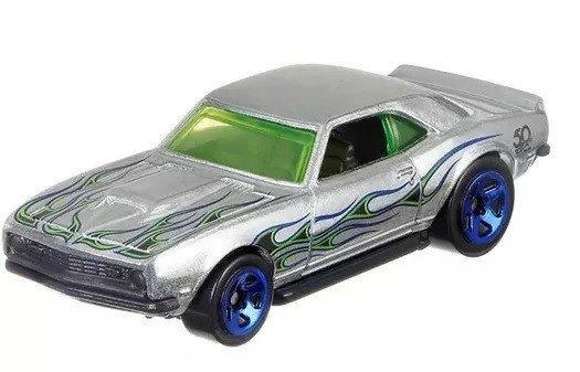 Carrinho Hot Wheels: `68 Copo Camaro (Zamac) - Mattel