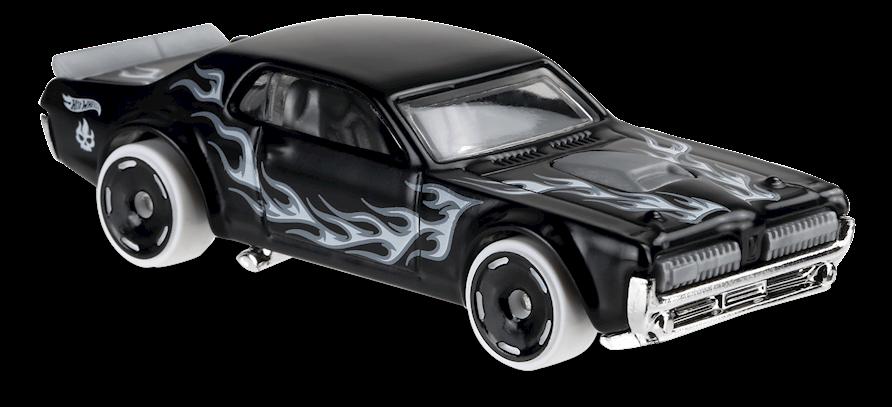 Carrinho Hot Wheels: '68 Mercury Cougar (H8KOA) - Mattel