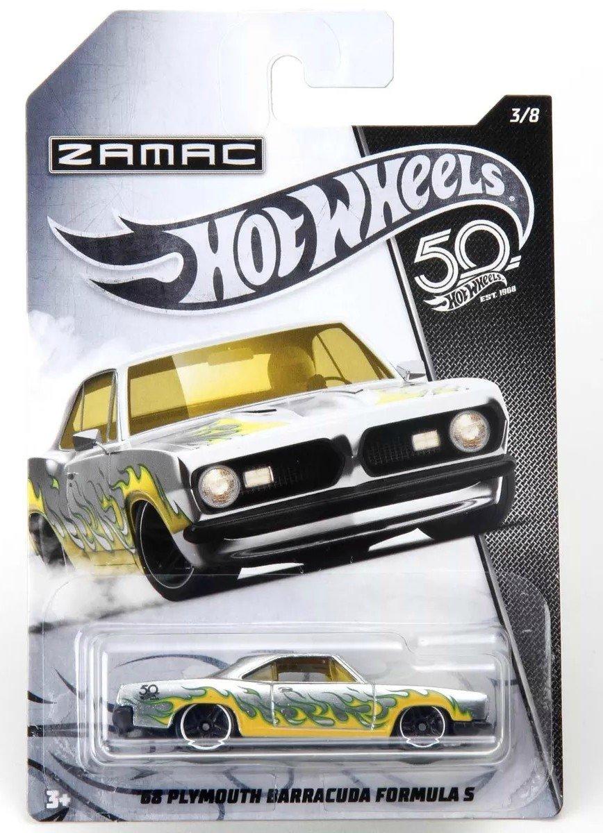 Carrinho Hot Wheels: `68 Plymouth Barracuda Formula S (Zamac) - Mattel