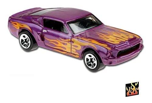 Carrinho Hot Wheels 68 SHELBY GT500 (KMUES) HW Flames - Mattel