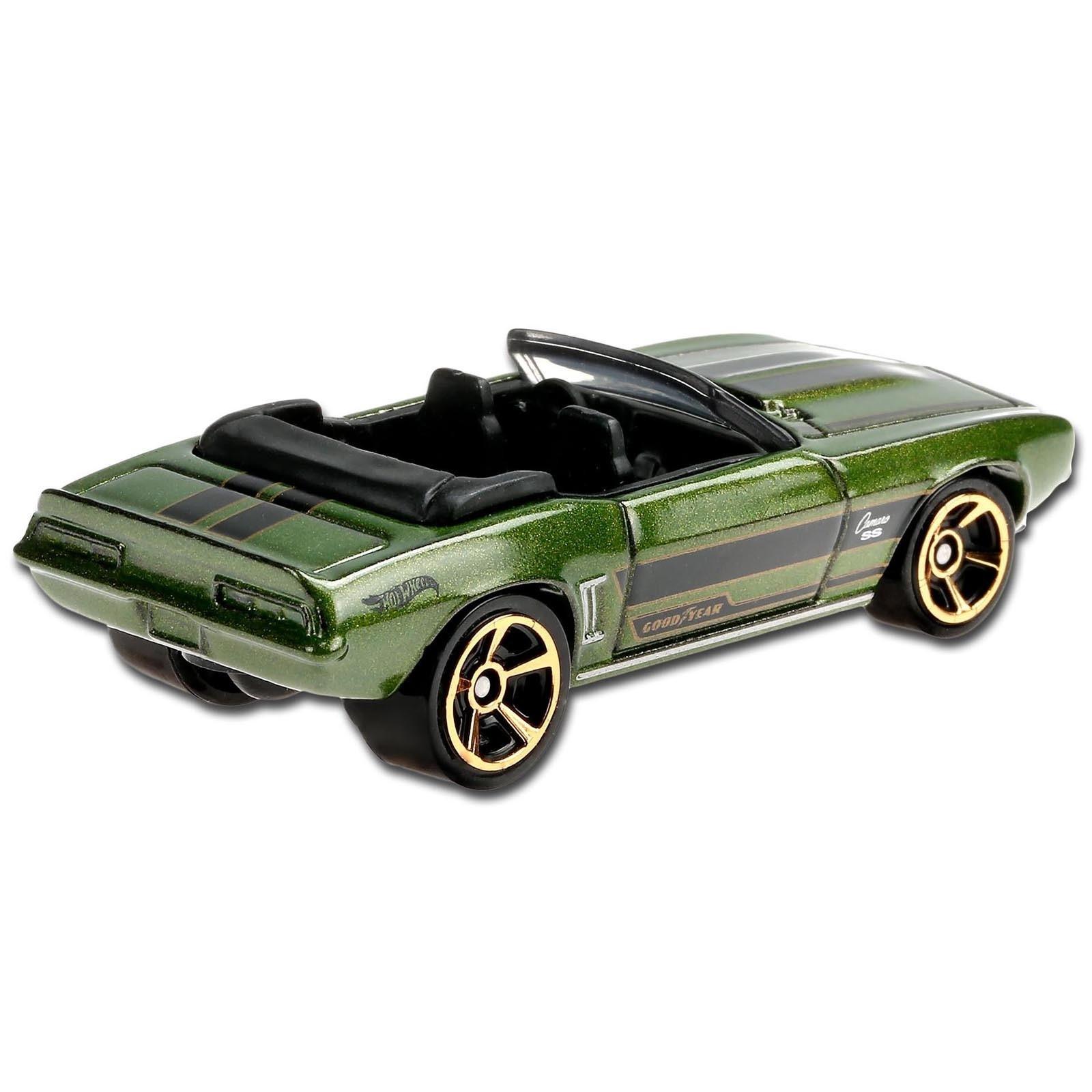 Carrinho Hot Wheels 69 Camaro (HGSIL) HW Roadsters - Mattel