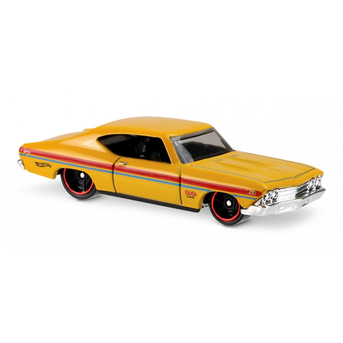 Carrinho Hot Wheels: '69 Chevelle SS 396 Amarelo