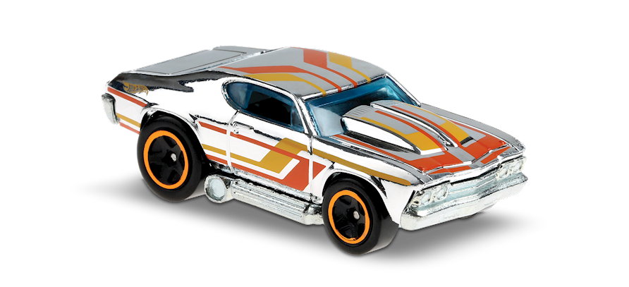Carrinho Hot Wheels: 69 Chevelle - ( Tooned ) - EQFFP