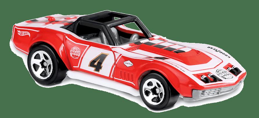 Carrinho Hot Wheels '69 Corvette Racer (5LAXQ) - Mattel