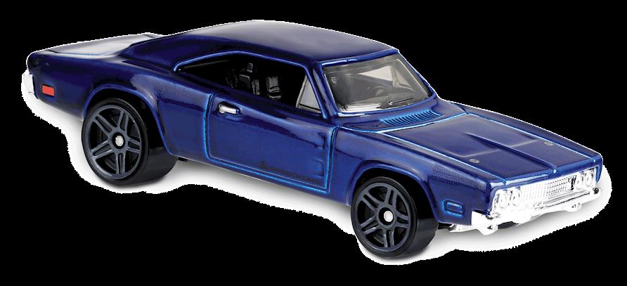 Carrinho Hot Wheels '69 Dodge Charger 500 (I6V5H) - Mattel