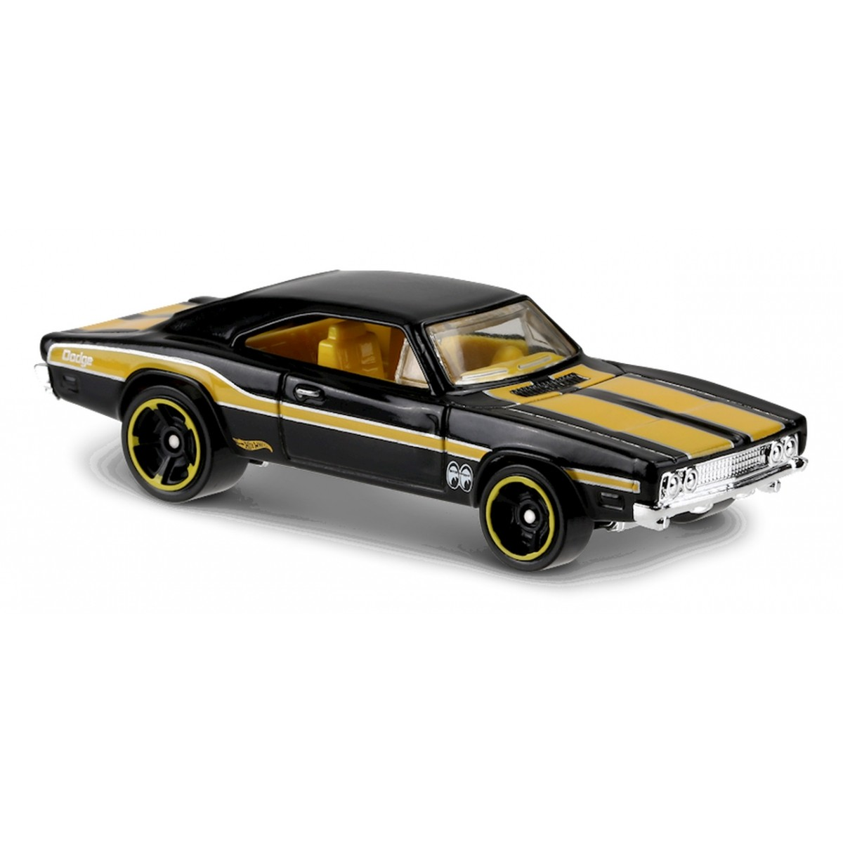 Carrinho Hot Wheels: '69 Dodge Charger 500 Preto
