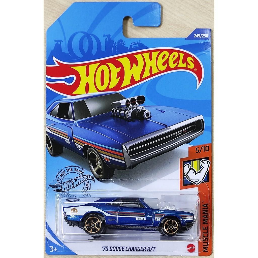 Carrinho Hot Wheels 70 Dodge Charger R/T (EIDME) Muscle Mania - Mattel
