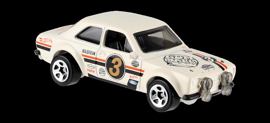 Carrinho Hot Wheels '70 Ford Escort RS1600 (FS8J5) - Mattel