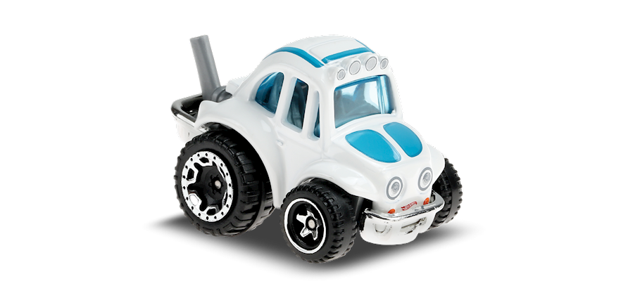 Carrinho Hot Wheels: 70 Volkswagen Baja Bug- ( Tooned ) - BMP2X