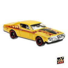 Carrinho Hot Wheels '71 Dodge Charger (RZRAJ) Hw Flames - Mattel