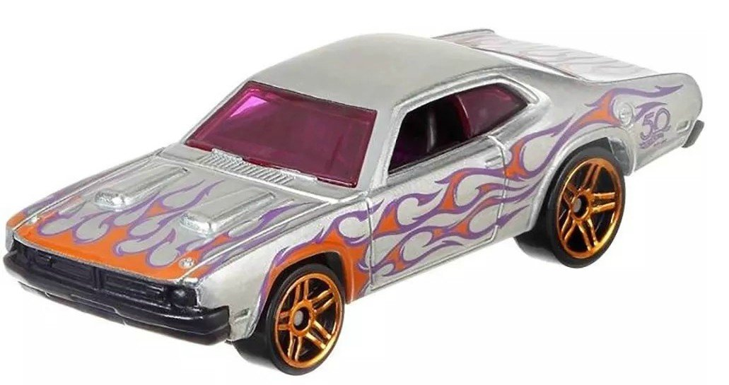Carrinho Hot Wheels: `71 Dodge Demon (Zamac) - Mattel