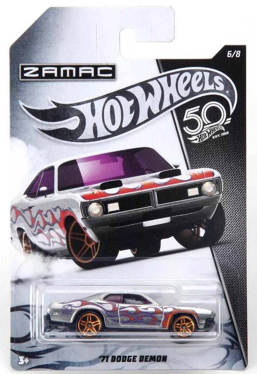 Carrinho Hot Wheels: `71 Dodge Demon (Zamac) - Mattel