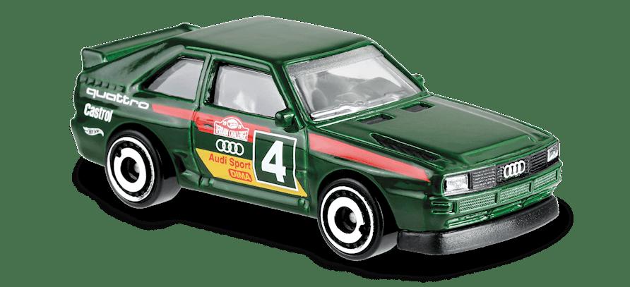 Carrinho Hot Wheels '84 Audi Sport Quattro (XUNQN) - Mattel