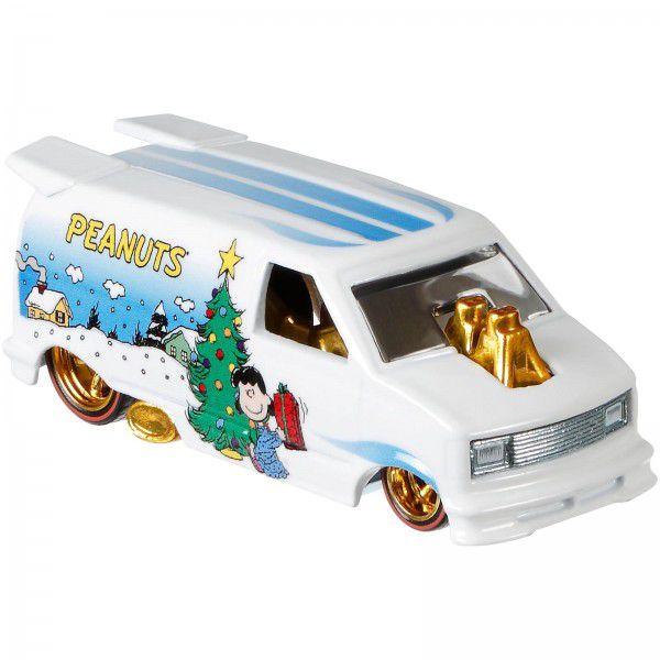 Carrinho Hot Wheels '85 Chevy Astro Van: Snoopy (Peanuts) - Mattel