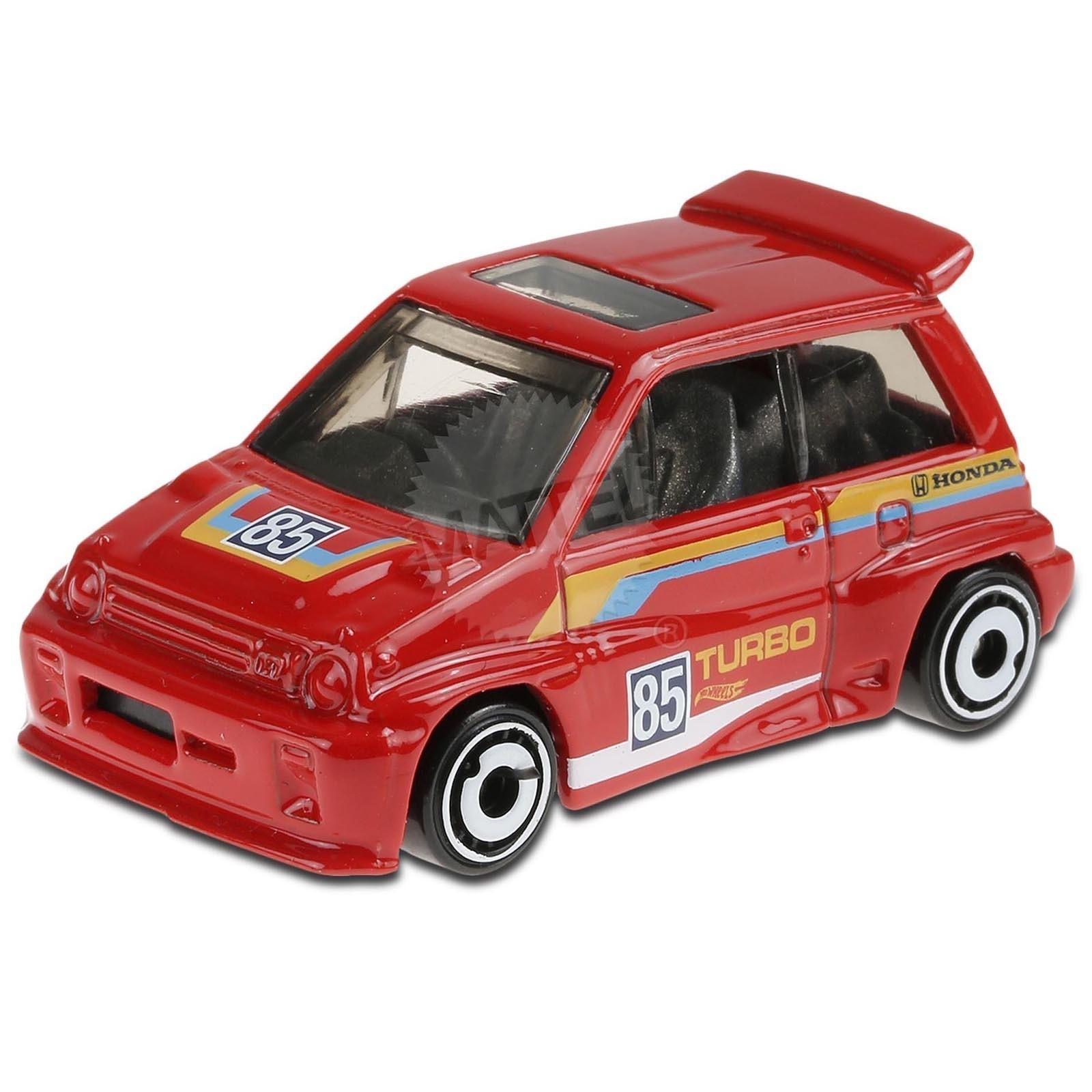 Carrinho Hot Wheels '85 Honda City Turbo II (OYHIW) HW Race Day