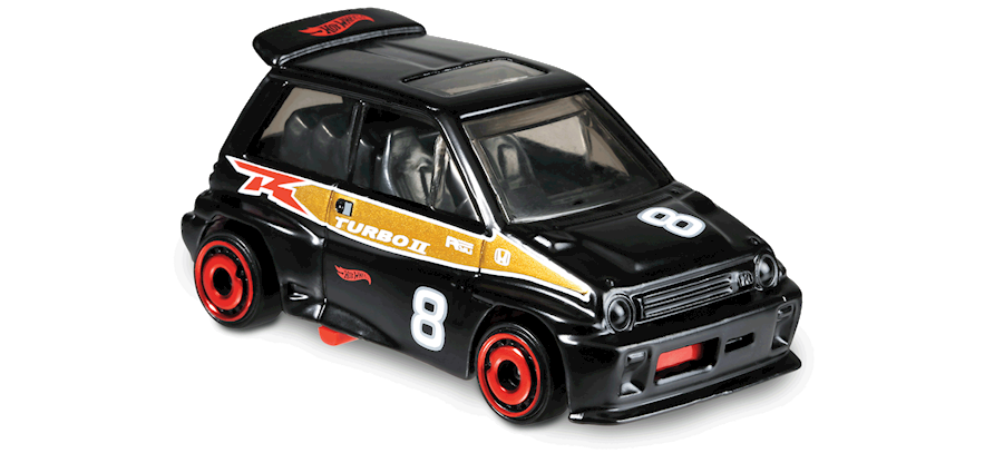 Carrinho Hot Wheels '85 Honda City Turbo II (Z1O5O) - Mattel