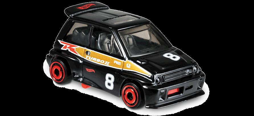 Carrinho Hot Wheels '85 Honda City Turbo II (Z1O5O) - Mattel