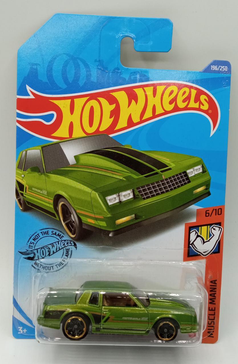 Carrinho Hot Wheels: `86 Monte Carlo SS (QYXJN) Muscle Mania - Mattel (Verde)