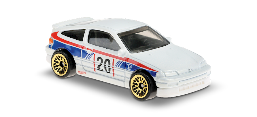 Carrinho Hot Wheels: '88 HONDA CRX - (Honda) - BIONP