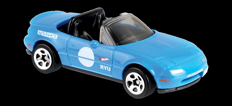 Carrinho Hot Wheels '91 Mazda MX-5 Miata (6HV01) - Mattel