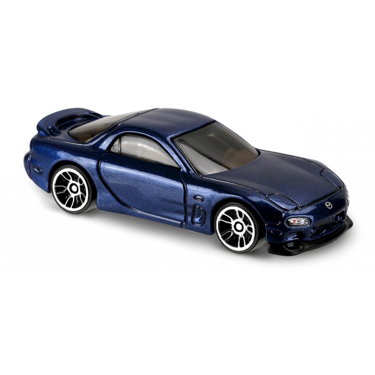 Carrinho Hot Wheels: '95 Mazda RX-7 Azul