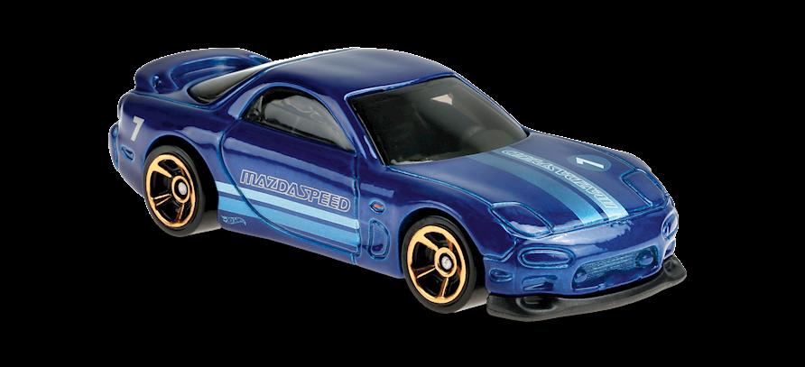 Carrinho Hot Wheels: 95 Mazda RX-7 - ( Hw Turbo ) - P97UR