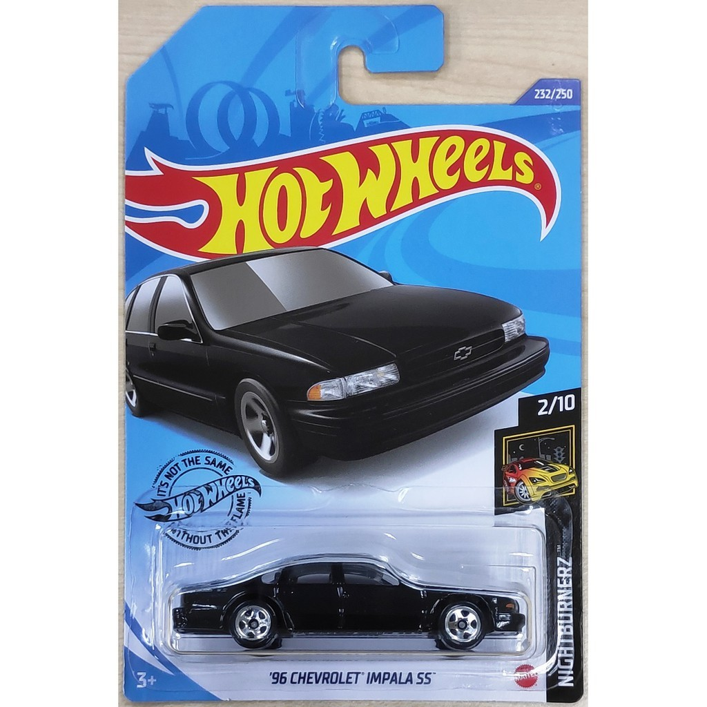 Carrinho Hot Wheels 96 Chevrolet Impala 55 (VWBWH) NightBurnerz - Mattel